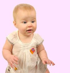 Free Baby Girl Stock Photos - 7983003