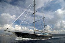 Free Luxury Sailing Boat Stock Photography - 7983212