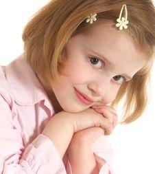 Free Pretty Little Girl Royalty Free Stock Photos - 7983388