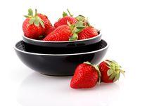 Free Fresh Strawberries. Stock Image - 7983581