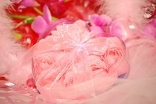 Free Pink Valentines Heart. Stock Photos - 7984093