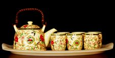 Tea Pot Set Royalty Free Stock Images