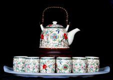 Free Tea Pot Set Royalty Free Stock Image - 7985176