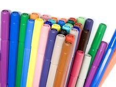 Free Felt-tip Pens Royalty Free Stock Photography - 7985917