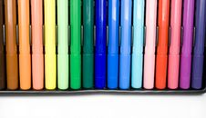 Free Felt-tip Pens Royalty Free Stock Image - 7985936