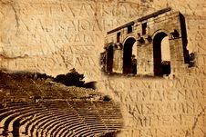 Free Archaeological Background. Royalty Free Stock Images - 7986059