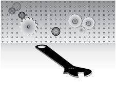Tools And Wrench Stock Image