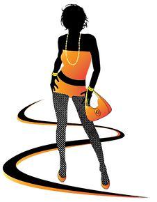 Free Fashion Woman Stock Image - 7986991