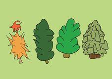 Free Creative Fur-trees Royalty Free Stock Photos - 7987178