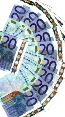 Range  Of Twenty Euro Stock Images