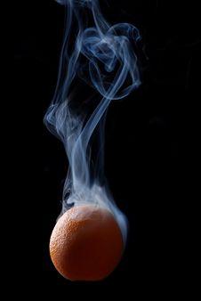 Orange And Smoke