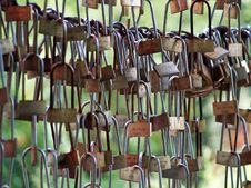 Free Lijiang Locks Royalty Free Stock Photos - 7988258