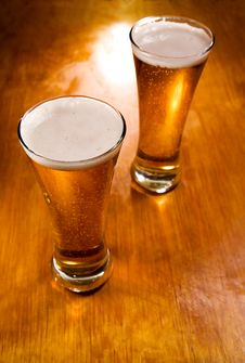 Free Beer Glasses, Selective Focus Stock Images - 7988284
