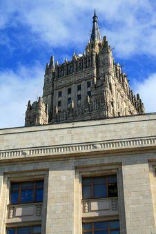 Free Stalin Skyscraper Stock Image - 7988291