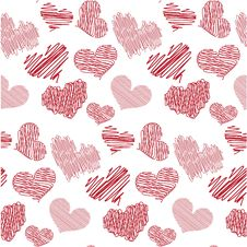 Free Seamless Valentines Royalty Free Stock Photos - 7988438
