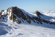 Free Austria. Mountains. The Alpes. Stock Image - 7988631