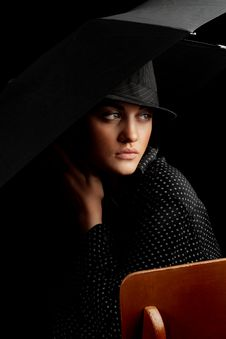 Free Mysterious Lady Stock Photos - 7988653