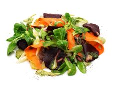 Salad From Vegetables And Roe Meat Royalty Free Stock Photography