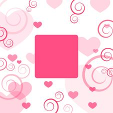 Free Valentine Card Royalty Free Stock Image - 7989036