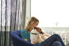 Free Dog Lover Royalty Free Stock Photos - 7989508