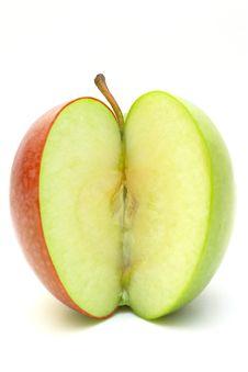 Free Half Apple Stock Photo - 7989840