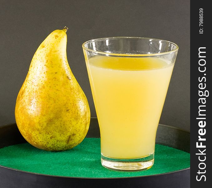 Pear and pear juice