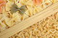 Free Mixed Picture With Spaghetti And Noodles. Royalty Free Stock Photo - 7991995