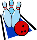 Free Vector Bowling Stock Images - 7993024