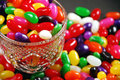 Free Candy Dish With Jellybeans Royalty Free Stock Images - 7995129