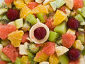 Free Fruit Salad Background Royalty Free Stock Image - 7995896