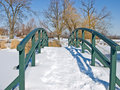 Free Snow Covered Bridge Stock Photo - 7996240