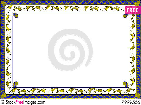 Fish frame free stock images photos 7999556 for Fish photo frame