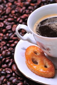Free Coffee Cup Royalty Free Stock Images - 7990059