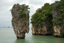 Free James Bond Island Royalty Free Stock Photography - 7990287