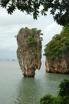 Free James Bond Island Stock Image - 7990291