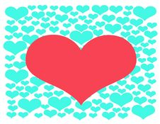 Free Valentin`s Day. Royalty Free Stock Images - 7990509