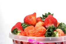Free Fresh Strawberry Royalty Free Stock Photography - 7990627