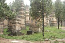 Free Shaolin Monk S Tomb Royalty Free Stock Photo - 7990895