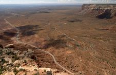 Free A View From Moki Dugway Royalty Free Stock Photos - 7990948
