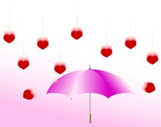 Free Love Rain Stock Photography - 7991032