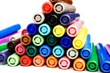 Free Felt-tip Pens Royalty Free Stock Photography - 7991757