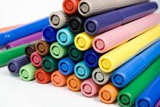 Free Felt-tip Pens Stock Images - 7991894