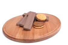 Free Cookie And Wafers 4. Stock Image - 7991931