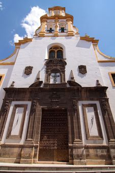Spanish Church Royalty Free Stock Photos