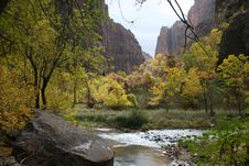 Free Zion National Park Royalty Free Stock Images - 7992299