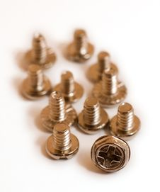 Free Computer Screws Stock Images - 7992384