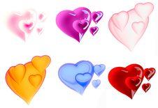 Free Beautiful Hearts Stock Photo - 7992760