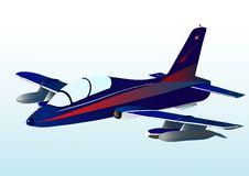 Free Blue Airplane Royalty Free Stock Image - 7992846