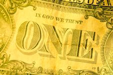 Free In God We Trust Royalty Free Stock Photography - 7993177