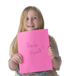 Free Girl You Re Fired Stock Image - 7993901